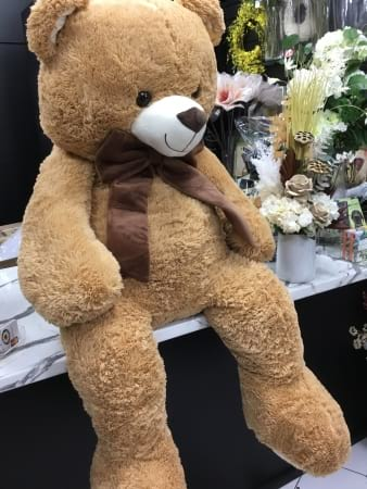 Benjamin bear brown jumbo sized 100cm sitting height