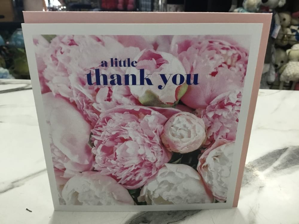 Affirmations publishing house thank you card