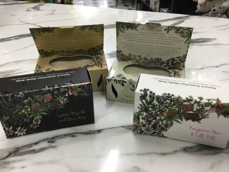 Australiana hand crafted natural bush soaps
