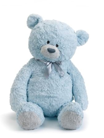 Forever my teddy Austen bear blue 56cm