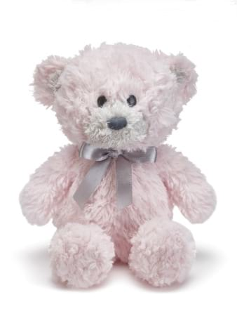 Forever my teddy Jane bear pink 25cm
