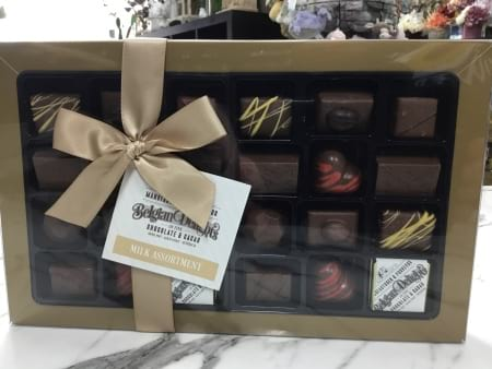 Belgian delights deluxe chocolate gift boxed selection 355 g